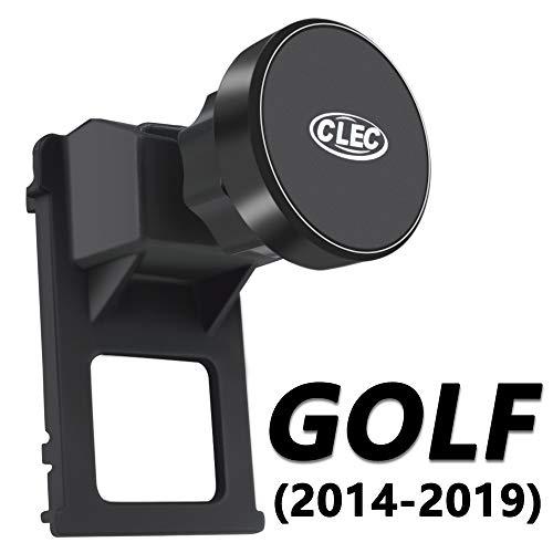 AYADA Handyhalterung für VW Golf 7, Golf 7 Handyhalterung Starker Magnet Stabil 360° Drehung Hände Frei Golf 7 Handy Halterung Smartphone Halter Golf Zubehör VW Golf 7 Zubehör