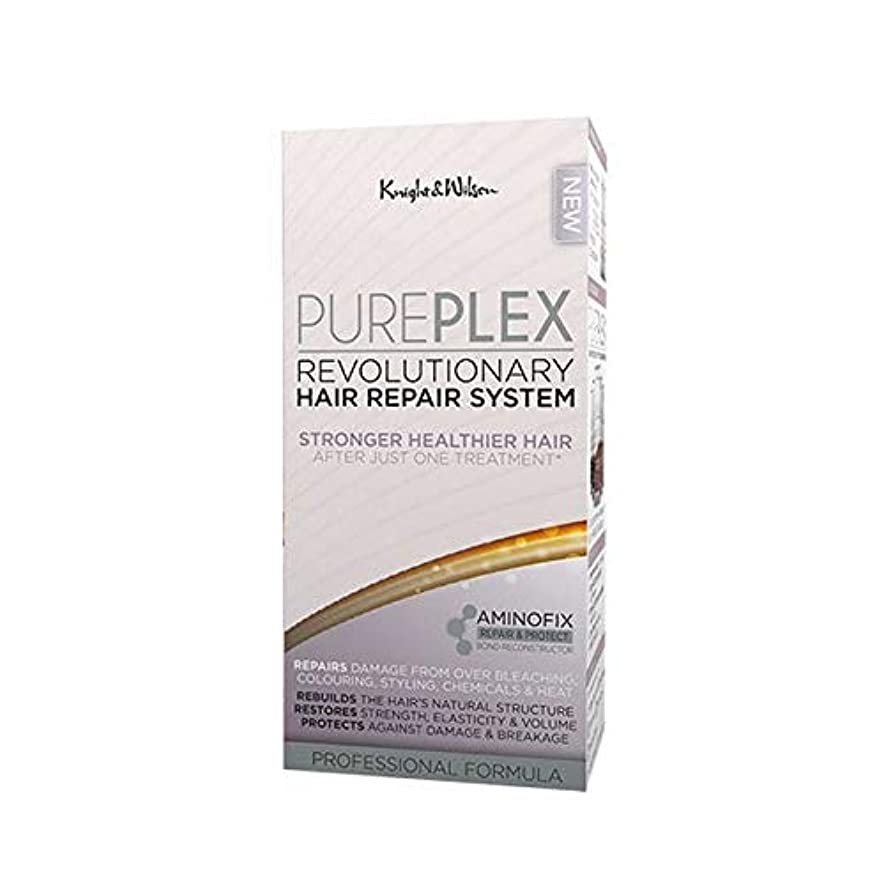 敗北プロフェッショナルぼろ[Knight and Wilson ] 騎士とウィルソンPureplex画期的なヘア修復システム - Knight and Wilson PurePlex Revolutionary Hair Repair System [並行輸入品]