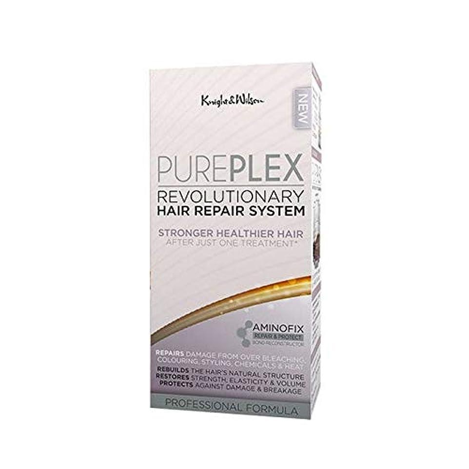 進行中肝九時四十五分[Knight and Wilson ] 騎士とウィルソンPureplex画期的なヘア修復システム - Knight and Wilson PurePlex Revolutionary Hair Repair System [並行輸入品]