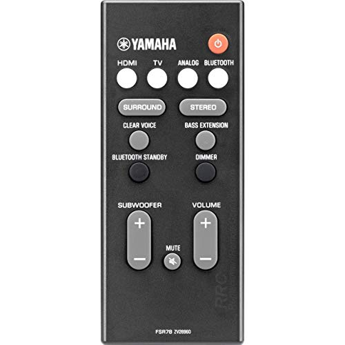 Yamaha FSR78 ZV28960 OEM Remote Control for ATS-1060, ATS1060, YAS106, YAS-106