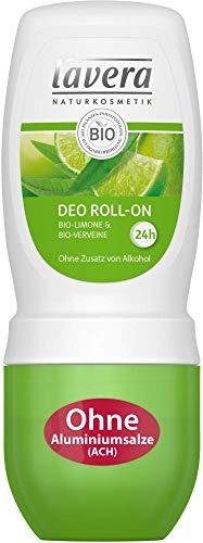 Lavera Desodorante en roll-on Bio-Limone & Bio, 3 unidades (3 x 50 ml)