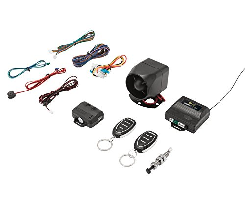Crimestopper SP102 Universal 1-Way Security & Keyless Entry System