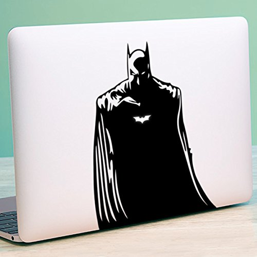 Pegatina de Batman para MacBook de Apple compatible con todos los modelos de MacBook (15 pulgadas Pro (2008-2016))