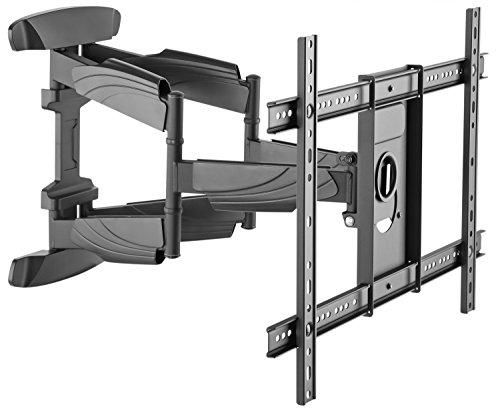 RICOO S5564, TV Wandhalterung, Schwenkbar, Neigbar, Universal 37-70 Zoll (94-178cm), TV-Halterung, für Curved LCD LED Fernseher, VESA 300x200-600x400