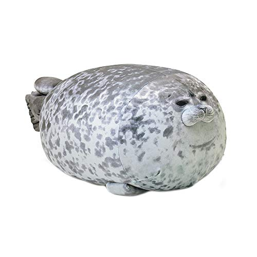 Niedliche Tier Stofftier, Chubby Blob Seal Kissen Gefüllte Baumwolle Plüsch Tierspielzeug Niedliche Ozean Kissen Haustiere