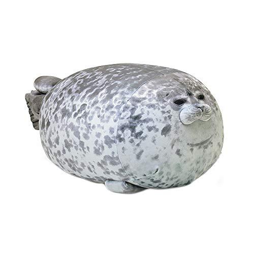 MJTP Cute Seal Stuffed Toy, Chubby Blob Plush Seal Toy Pillow, Plush Animal Toy, Ocean Animal Pillow