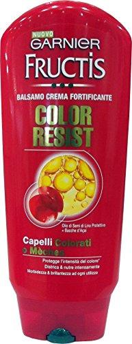 Garnier Fructis Balsam schützt die Farbe