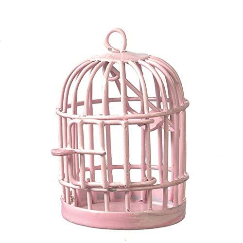 Melody Jane Dolls Houses Casa delle Bambole Rotondo Rosa Gabbia Miniatura 1:12 Scala Animale Domestico Accessorio
