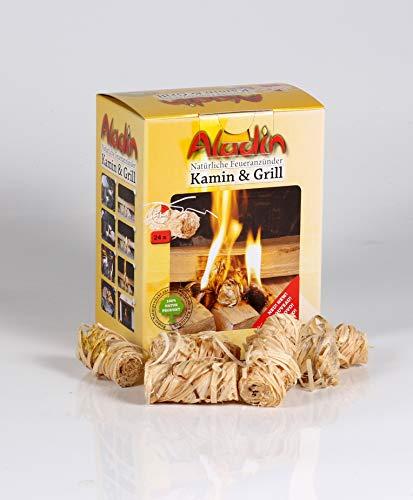 Dittmeier Aladin der natürliche Feueranzünder für Kamin und Grill aus Holzwolle und Wachs, Kaminanzünder, Feueranzünder, Holzanzünder (24)