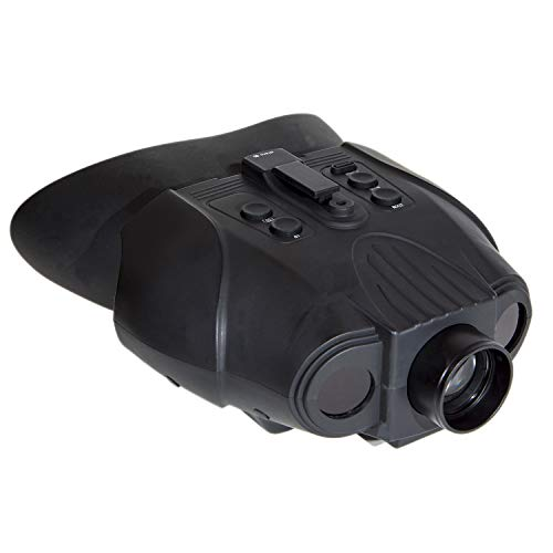 Nightfox 120R Widescreen Rechargeable Recording Digital Infrared Night Vision Binoculars - 3x20