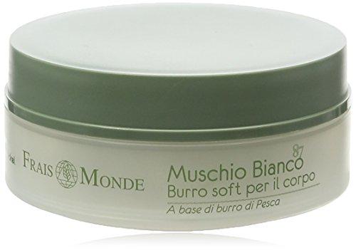 Frais Monde Muschio Bianco 87 Soft Crème/Beurre pour Corps White Musk 150 ml