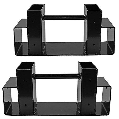 Great Deal! RDTIAN Firewood Log Rack Bracket Kit Fireplace Fire Pit Wood Storage Holder Accessory Fi...