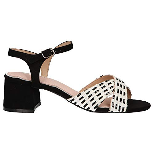 Maria Mare Sandalen für Damen 67337 C44508 TRENZA Negro Schuhgröße 39