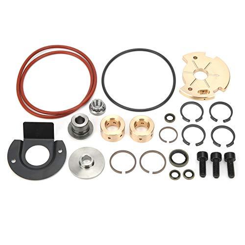 Aoutecen Kit de reconstrucción de Turbo Kit de reparación de reparación de turbocompresor Profesional Accesorios Kit de Servicio de reconstrucción de reparación de Cargador de Turbo Preium