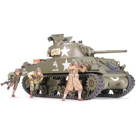 Tamiya 300035250 - 1:35 WWII US Sherman M4A3 Spä, 75 mm (9)