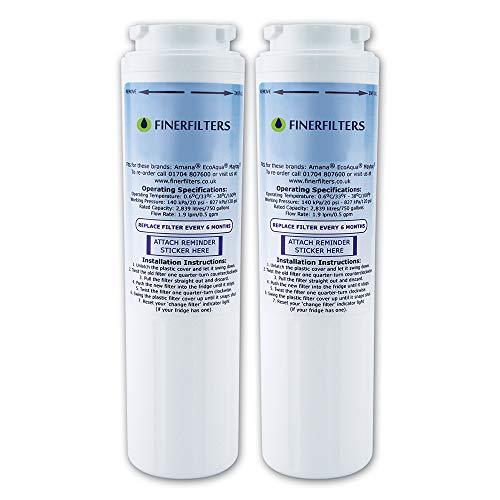 Finerfilters FF-281 Filtre à eau pour réfrigérateur compatible avec UltraClarity 644845 Filtre à eau pour réfrigérateur Bosch, Siemens, Neff, Miele
