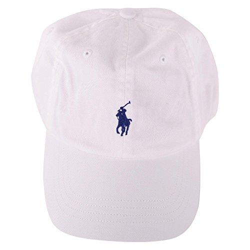 Casquette Ralph Lauren blanche pour homme