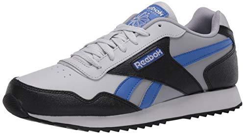 Reebok Men's Classic Harman Ripple Sneaker, Pure Grey/Black, 8 M US
