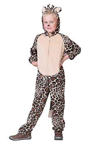 Overall Giraffenkostüm für Kinder-Kinder 164
