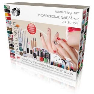 Unghie Rio Ultimate Professional Nail Artist Collection With Step-By-Step DVD