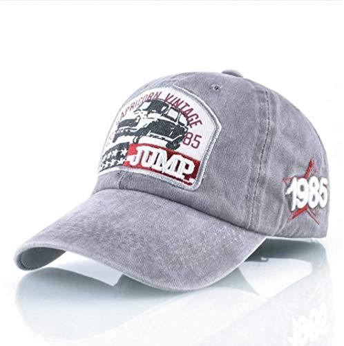 Gorra de Beisbol Retro Hombre Mujer Washed Cowboy Daddy Hat Hip Hop Bone Funda de algodón para Exteriores Running Men 02