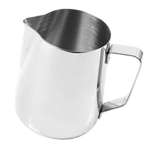 Kitchen Craft Barista Espresso Coffee Frothing Tea Milk Latte Jug Thermometer (350ml Jug)