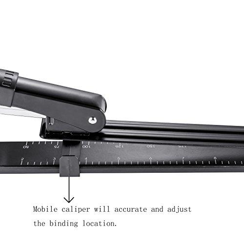 """OMAIC Stapler, 12"""" Long Stapler, Long Reach Stapler, Long Arm Stapler with Staples, 20 Sheets Print Papers-Black Photo #3"""