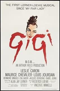Gigi Movie Poster Leslie Caron #01 24x36in