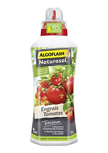ALGOFLASH NATURASOL Engrais Liquide Tomates 1 L, UAB, ALBIOTOM1