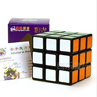 ShengShou Aurora 3x3x3 Magic Cube Speed Puzzle Cube for Children Adults Color Black