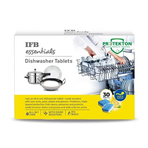 IFB Essentials Dishwasher Tablets, yellow, small