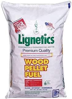 lignetics wood pellet fuel