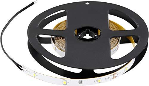 Bande lumineuse LED de qualité supérieure - 5 m - 12 V - Intensité variable - 3000 lm - Fabriqué en UE - Blanc chaud (3000 K)