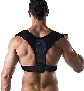 Filfeel Posture Corrector for Women and Men Adjustable Posture Corrector Clavicle Support Back Shoulder Brace Breathable