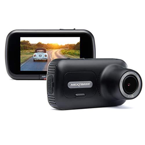 Nextbase 322GW - Dash-Cam, Auto-Dash-Kamera - Volle 1080p / 30fps-HD-Aufnahme-DVR-Kamera - Vorder- und Rückaufnahmemodule - 140 ° weiter Betrachtungswinkel - Wi-Fi und Bluetooth - GPS - SOS-Notfall.