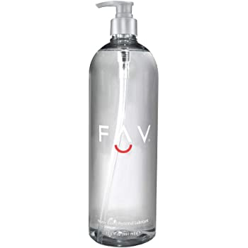 FAV Water Based Luxury Personal Lubricant, 33.5 ounces