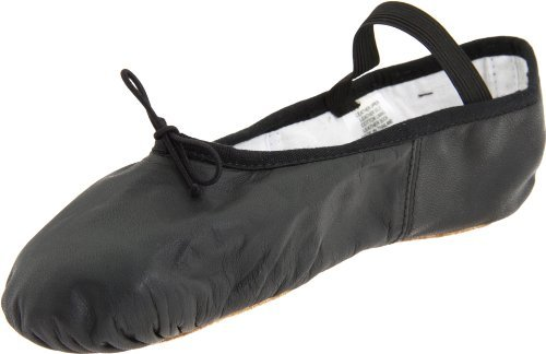 Bloch Women's Dansoft Full Sole Leather Ballet Slipper/Shoe, Black, 6.5 Narrow