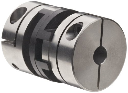 Huco 846.13.2424.Z Size 13 Oldham Coupling, Stainless Steel, Inch, 0.25