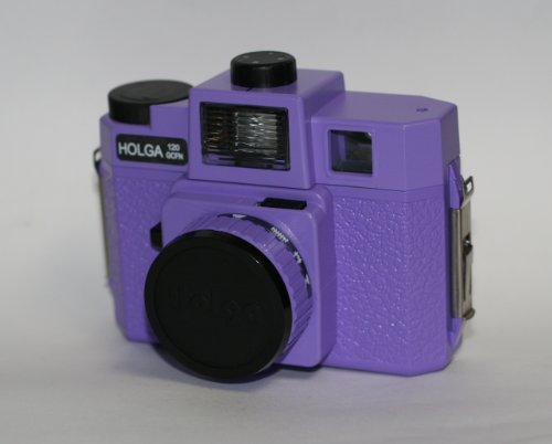 Holga 120GCFN Kamera (Glas Objektiv/-Flash) (violett)