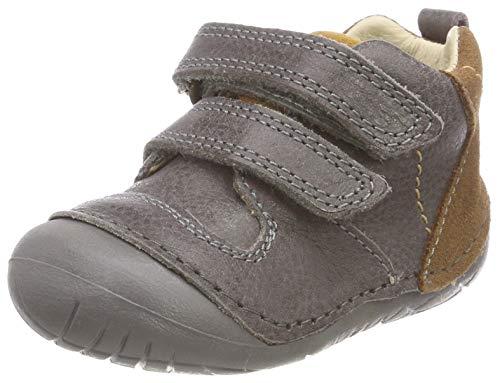 PRIMIGI Baby-Jungen Ple 24004 Sneaker, Grau (Grigio/Cuoio 11), 20 EU