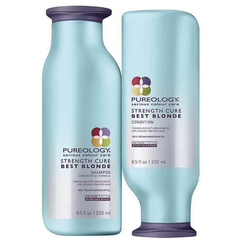 Pureologie Kracht Genezen Beste Blonde Shampoo 250ml & Kracht Genezen Beste Blonde Conditioner 250ml Duo