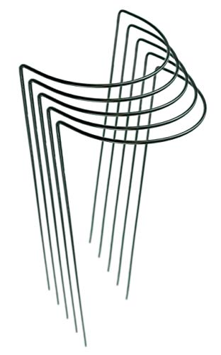 Novatool Strauchstütze | halbrund 22 cm Ø - 100 cm | Staudenhalter Blumenhalter Rankengewächs Buschstütze Pflanzenstütze Blumenstütze Staudenstütze Rankhilfe Strauchhalter Rosenstütze