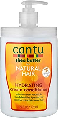 Cantu Shea Butter for Natural Hair Sulfate-free Hydrating Cream Conditioner 25oz, 25 Oz