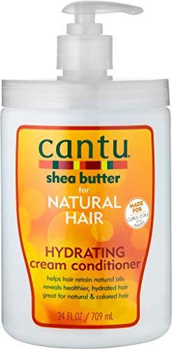 Cantu acondicionador de crema hidratante sin sulfato, tamaño de salón,...