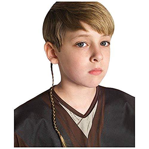 Star Wars Episode 2 Anakin Skywalker Jedi Braid