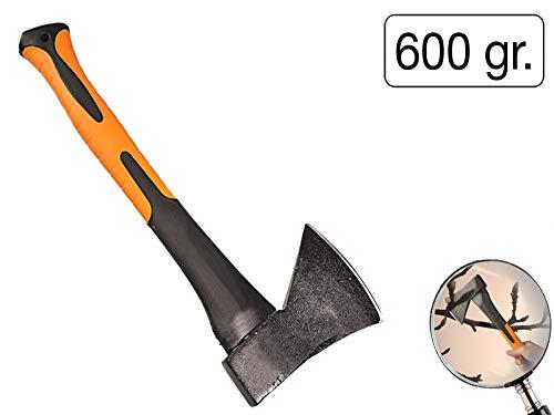 Kurzbeil 600g Handbeil 370 mm Universalbeil Fiberglas Spaltkeil Spaltaxt Holz