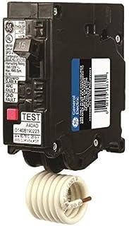 GE THQL1120DF Single-Pole Dual Function Plug-in Afci/Gfci Circuit Breaker, 120 Vac, 20 Amp, 10 Kaic
