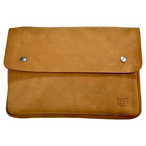Hide & Drink, Vintage Leather Folder Document Holder, File Case, Document Portfolio, Office & Work Essentials, Handmade Includes 101 Year Warranty :: Old Tobacco