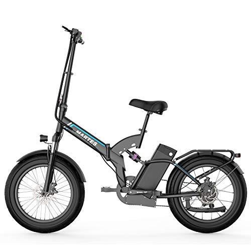 """martes Bici Elettrica Fat Tire 20 * 4\""""con 48V 15Ah Batteria agli Ioni di Litio 500W Motor, City Mountain Bike Booster 100-120km"""
