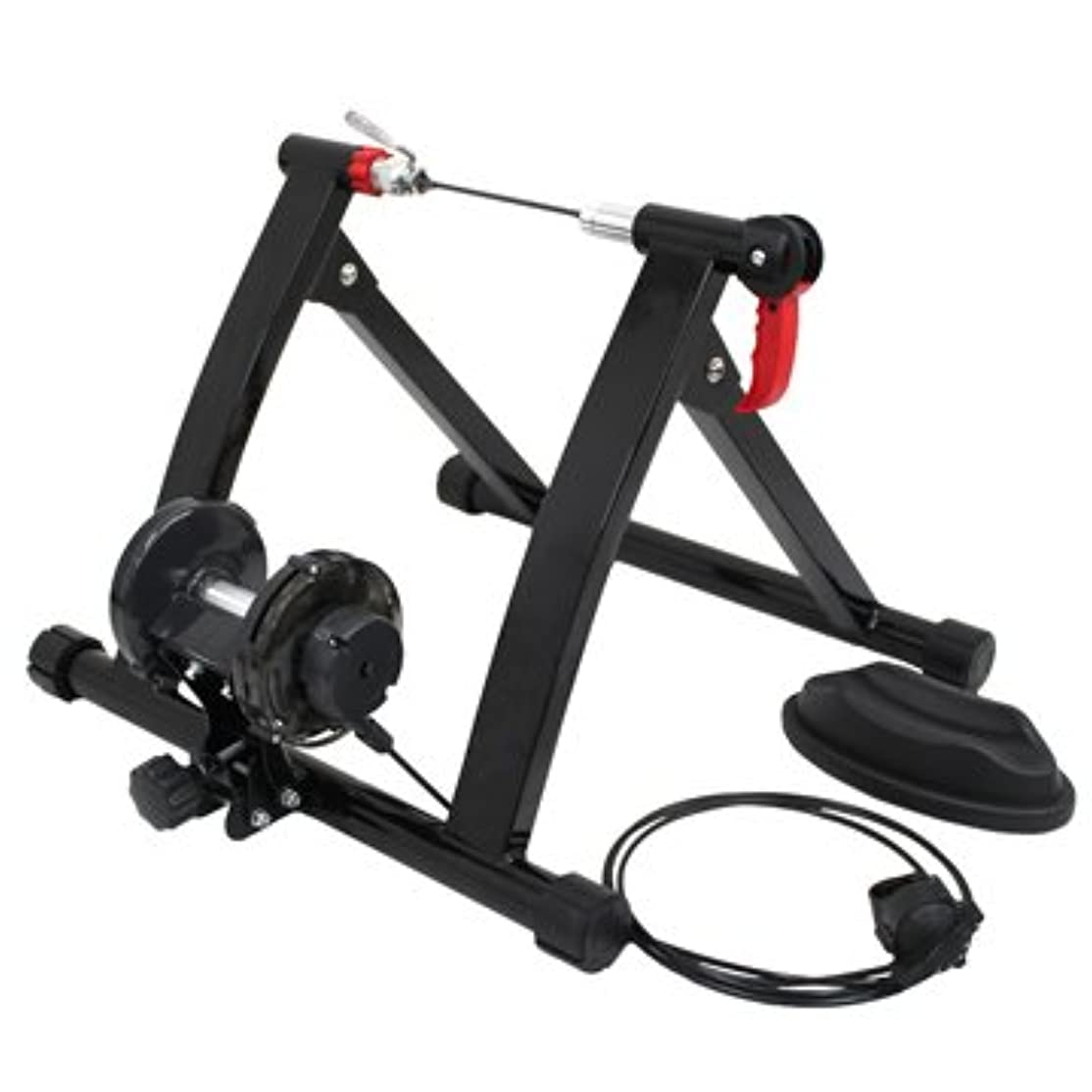 配る乙女媒染剤WEIMALL WEIMALL 自転車 トレーニング サイクルトレーナー 静音 6段階負荷調整リモートダイヤル フィットネスフレーム ローラー台 室内用 バイクトレーナー 対応タイヤ 25インチ~29インチ